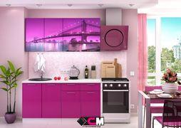 Кухня с фотопечатью Город 1,6м