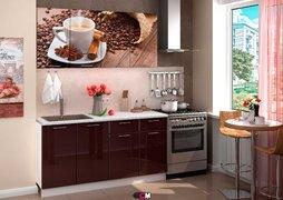 Кухня с фотопечатью Кофе 1,6 м