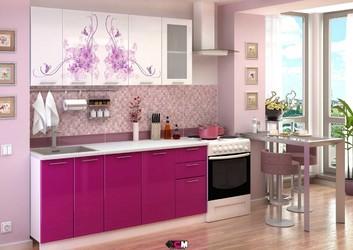 Кухня с фотопечатью Нежность 2,0 м