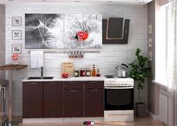 Кухня с фотопечатью Одуванчик 2,0м