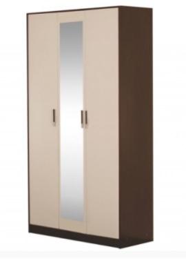 Шкаф 3-х створчатый Бася ШК-553 шимо темный - шимо светлый