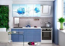 Кухня с фотопечатью Лед 1,6 м