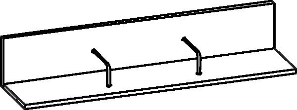 Полка Мелисса ПЛ-2801
