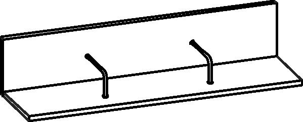 Полка Мелисса ПЛ-2802