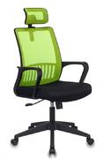 Кресло компьютерное МС-201 салатовый - черный