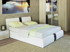 Кровать Челси Эко 100 гранд кожзам белый
