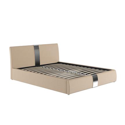 Кровать Челси Вик ТР 80 к/з гранд натурель бежевый