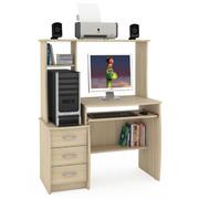 Стол компьютерный Комфорт-5 СК дуб сонома