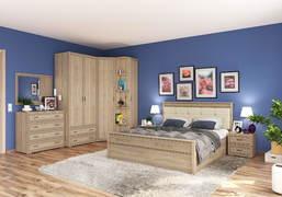 Модульная спальня Ливорно дуб сонома комплект-2