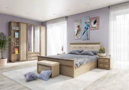 Модульная спальня Ливорно дуб сонома комплект-1