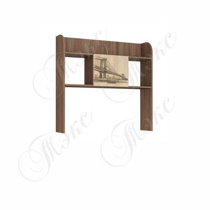 Надстройка стола Орион ясень шимо - дуб сонома
