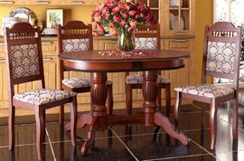 Стол обеденный Верона-3 темный орех