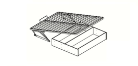 Основание для кроватей Домани 1,4 ортопед. подъемный механизм с ящиком