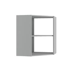 Шкаф верхний угловой Вита ПУ 600 белый
