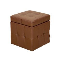 Пуф Куб с ящиком