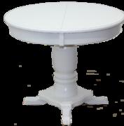 Стол обеденный Венеция-1 белый