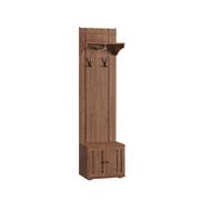 Шкаф комбинированный 10.09 Марко орех селект каминный