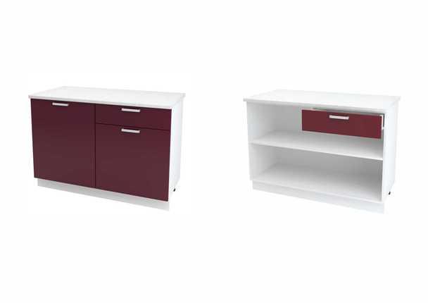 Шкаф нижний с 1 ящиком Глория ШН1Я 1200