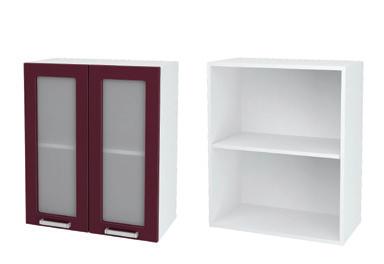 Шкаф верхний со стеклом Джулия ШВС 600
