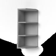 Шкаф верхний торцевой открытый Крафт ШВТО дуб эндгрейн