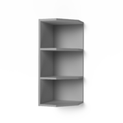 Шкаф верхний торцевой открытый Крафт ШВТО дуб вотан