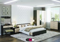 Модульная спальня Гармония венге - дуб белфорт композиция-1
