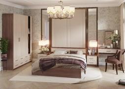 Модульная спальня Гармония шимо темный - шимо светлый