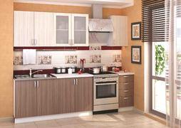 Модульная кухня серии Дина ЛДСП шимо светлый - шимо темный