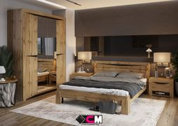 Модульная спальня Паола дуб крафт золотой комплект-3