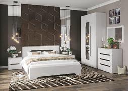 Модульная спальня Валенсия дуб анкор светлый комплект-3