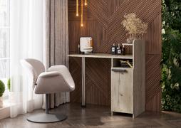 Столик макияжный-2 дуб крафт серый