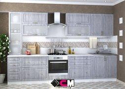 Модульная кухня серии Юлия МДФ сандал серый