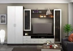 Модульная гостиная Италия ЛДСП венге - дуб белфорт комплект-1
