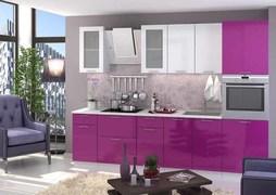 Модульная кухня серии Ксения МДФ виолетт