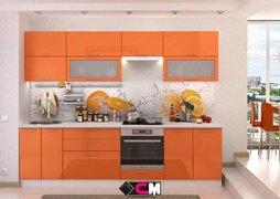 Модульная кухня серии Ксения МДФ оранж