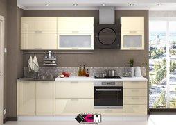Модульная кухня серии Ксения МДФ ваниль