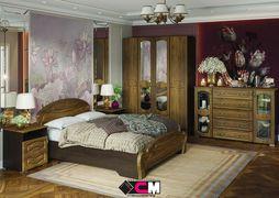 Модульная спальня Медина дуб санремо - венге