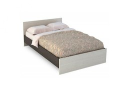 Кровать КР-557 Бася 1400 венге - белфорт