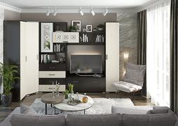 Модульная гостиная Яна дуб белфорт - венге комплект-2
