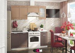 Кухня Кремона МДФ Грация-Амаретто Комплект 1,8м