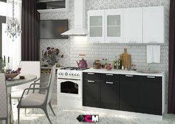 Кухня Кремона МДФ Сноу-Оникс Комплект 1,6м