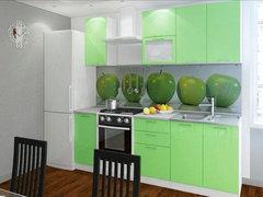 Кухня Ксения МДФ олива комплект 1,7м