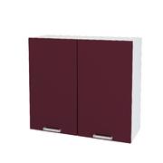 Шкаф верхний Линда ШВ 800 МДФ фиолетовый металлик