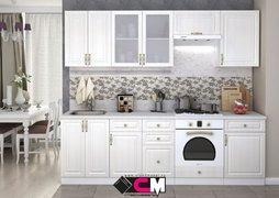 Кухня Юлия МДФ сандал белый комплект 2,5м
