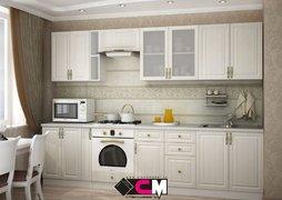 Кухня Юлия МДФ сандал белый комплект 2,95м
