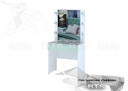 Стол туалетный СТ-03 Тифани белый - кенди