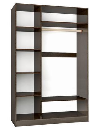 Шкаф 3-х створчатый Эрика венге - дуб молочный