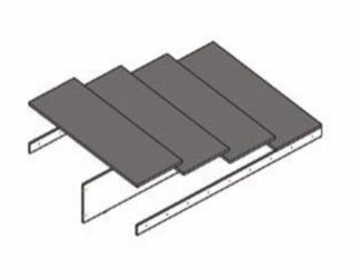 Основание для кроватей ТЭКС 1400 ЛДСП