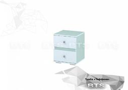 Тумба ТБ-13 Тифани белый - кенди