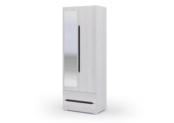 Шкаф 2х створчатый с ящиками Валенсия ШК 011 дуб анкор светлый